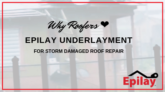 Why Roofers Love Synthetic Underlayment for Storm Damaged Roofing Repair